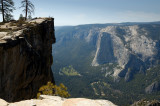 Taft Point - El Capitan across Yosemite Valley