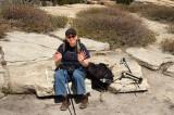 Taft Point - Glynda, the hiker
