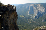 Taft Point - a view of El Capitan and Yosemite Valley