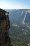 Taft Point - a stomach churning view of El Capitan and Yosemite Valley