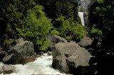 Along the Mist Trail - Merced River and Vernal Falls