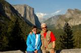 Jim & Glynda - Yosemite Valley backdrop