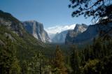 Yosemite Valley - Wawona Tunnel View in morning light