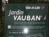 LILLE   LE JARDIN  VAUBAN   NOV. 28  2006