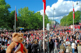 A splendid wether to celebrate Norway's Day!