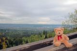 A scenic view over the centre of Oslo