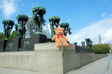 In front of Vigeland's fountain