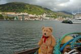 I'm exploring the port of Bergen!