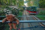 Fløibanen cable car...Hurrah!!!