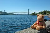 The northern Europe's longest suspension bridge!!!