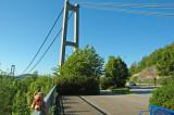 And now we crossed the bridge!