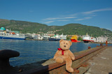 I feel at home in Bergen Port by now...