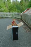 Oh my...it really looks like a cardboard box....