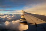 Flight over Canada
