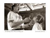 Dr. Bobby Fulmer with Chorti Maya Girl