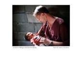Dr. Robert Mingus with Honduran Baby