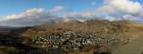 Panoramic over Blaenau
