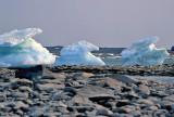 Three Iceburgs
