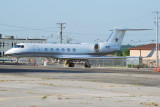 Dallas Cowboys Gulfstream Aerospace G-V (N1DC)