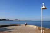 Denia from across the bay