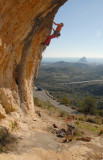 Los Pinos, Route 3, (7a+) Calpe beyond