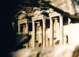 Ephesus Library Through Ruins