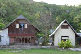 0446 Typical local homes of Bora Bora