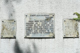 1610 Robert Louis Stevenson plaque