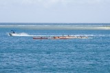 C1456 Canoe Race at Papeete