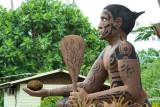 1405  Warrior at the Tiki Village