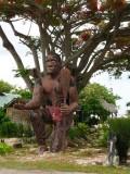 P463 Warrior at the Tiki Village