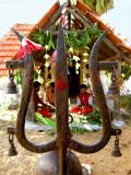The trident of Shiva