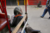 The poor and the Rickshaw man