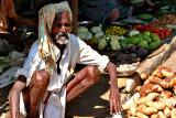 Vegetable market in Sellur