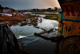 From under the Vaigai Bridge