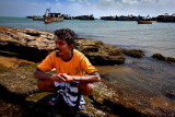 The fisherman and his sea