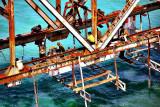 Repairing the railway bridge