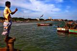 Rameswaram fishermen harbour