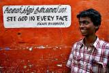Wisdom written on  walls