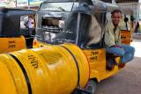 Oil and rickshaw