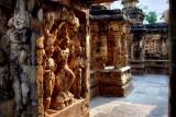 Inside the Kailasanathar Temple