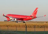 Air Greenland  at the moment of touchdown!