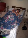 Leslie descansando