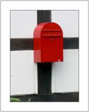 Crucified Mail Box