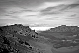 Haleakala Crater B&W