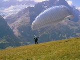 Paragliding over Grindelwald