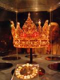 The Crown of King Christian IV, Rosenborg Castle, Copenhagen