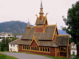 A Stave Church, Balestrand, Norway