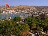Bodrum, from the castle of St Peter