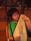 Chinese Lute player